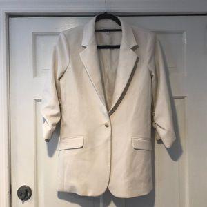 Elizabeth And James Cinched Sleeve Blazer Size 4